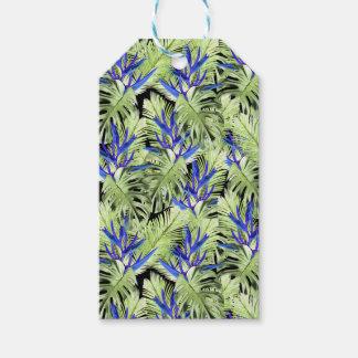 Tropische Pflanze 2. Geschenkanhänger