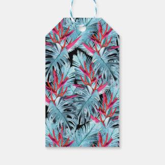 Tropische Pflanzen 1 Geschenkanhänger