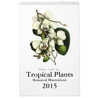 Tropische Pflanzen 2015 Kalender
