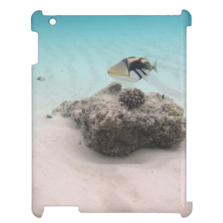 Tropische Sand-Lagune-Korallen-Fische Malediven iPad Hülle