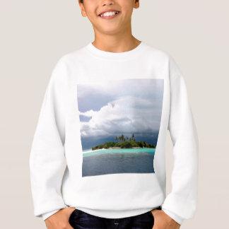 Tropische Schatz-Bucht-Insel Sweatshirt