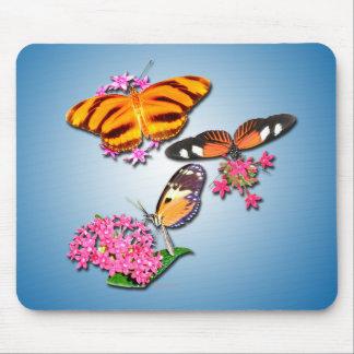 Tropische Schmetterlinge Mousepad