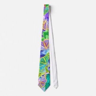 Tropische Schmetterlings-Krawatte Personalisierte Krawatten