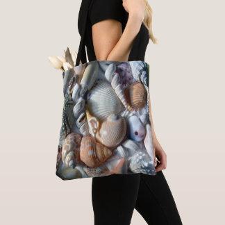 Tropische Seashells-Fotografie-Umhängetasche Tasche