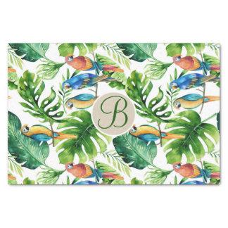 Tropische Seidenpapier