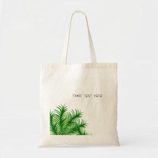 Tropische Sommer-Palme-Blatt-Strand-Taschen-Tasche Tragetasche