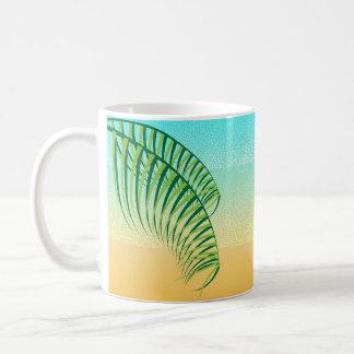 Tropische Strand-Ferien Kaffeetasse