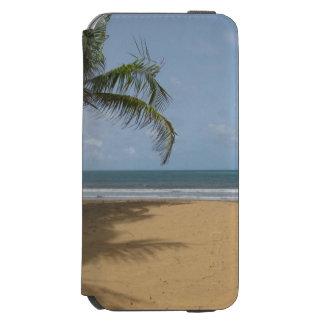 Tropische Strand-Palme Incipio Watson™ iPhone 6 Geldbörsen Hülle