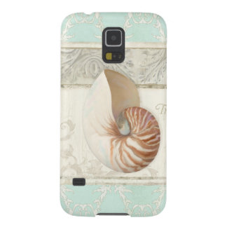 Tropische Strandnautilus-Muschel-Kunst-Sommer-Mode Samsung S5 Hülle
