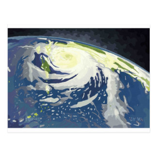 Tropische Stürme Postkarte