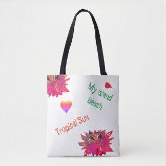 Tropische Sun-Feiertags-Strand-Tasche, Tasche