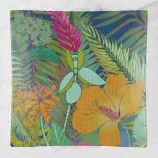 Tropische Tapisserie II Dekoschale