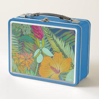 Tropische Tapisserie II Metall Lunch Box