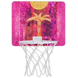 Tropische Träume Mini Basketball Netz