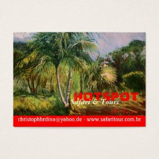 Tropische Visitenkarten