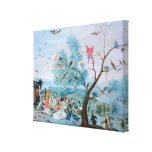 Tropische Vögel in einer Landschaft Gespannte Galerie Drucke