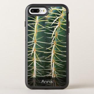 Tropischer Bereich-Kaktus-botanisches Foto OtterBox Symmetry iPhone 8 Plus/7 Plus Hülle