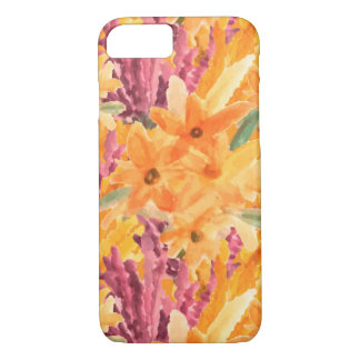 Tropischer Blumenfall iPhone 8/7 Hülle