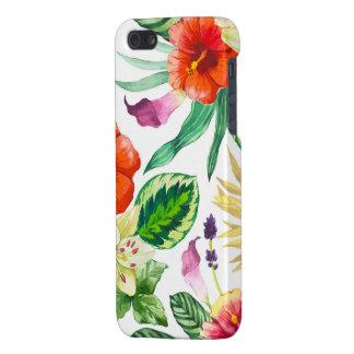tropischer Blumeniphone Fall iPhone 5 Hülle