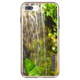 Tropischer Dschungel-Wasserfall Incipio DualPro Shine iPhone 8 Plus/7 Plus Hülle