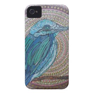 Tropischer Eisvogel iPhone 4 Case-Mate Hülle