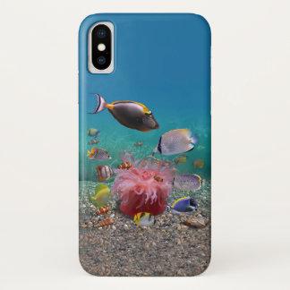 Tropischer Fische iPhone X Fall iPhone X Hülle