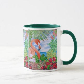 Tropischer Flamingo Tasse