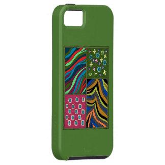 Tropischer grüner Tapisserie iPhone 5/5s Hülle Fürs iPhone 5