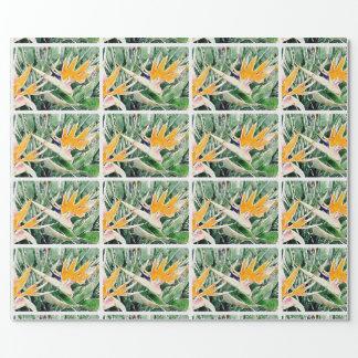 Tropischer hawaiischer Paradiesvogel Geschenkpapier