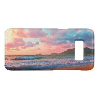 Tropischer hawaiischer Sonnenuntergang Case-Mate Samsung Galaxy S8 Hülle