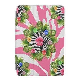 Tropischer Hibiskus und exotische rosa iPad Mini Hülle