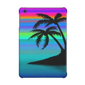 Tropischer Insel-Sonnenuntergang