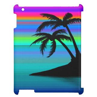 Tropischer Insel-Sonnenuntergang iPad Hülle