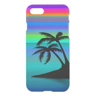 Tropischer Insel-Sonnenuntergang iPhone 8/7 Hülle