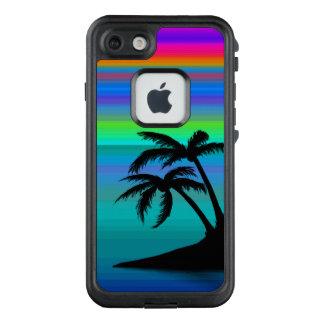 Tropischer Insel-Sonnenuntergang LifeProof FRÄ' iPhone 8/7 Hülle