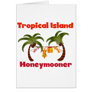 Tropischer InselHoneymooner Karte