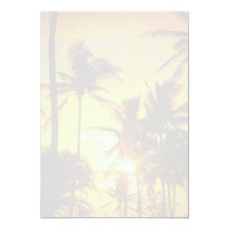 Tropischer Palmen-Raum-bedruckbares
