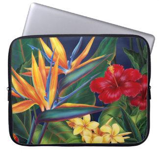 Tropischer Paradies-NeoprenWetsuit Laptop Sleeve Schutzhülle
