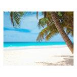 Tropischer Paradies-Strand Flyers