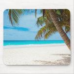 Tropischer Paradies-Strand Mauspad