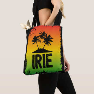 Tropischer Rasta Gruß Jamaikas Irie Tasche