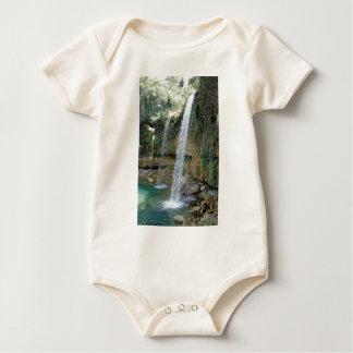 tropischer Regen Baby Strampler