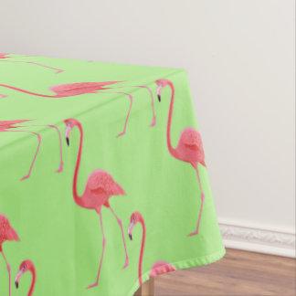 """Tropischer rosa Flamingo der Tischdecke-""""60x84"""" Tischdecke"""
