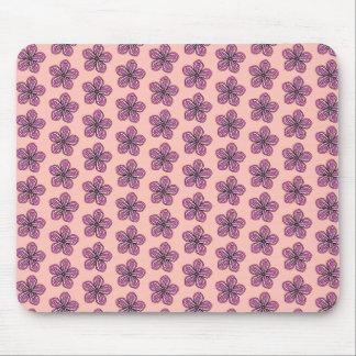 Tropischer rosa Hibiskus Mousepad