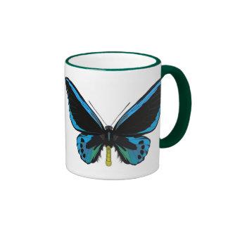 Tropischer Schmetterling Ringer Tasse