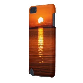 Tropischer Sonnenaufgang in der Orange iPod Touch 5G Hülle