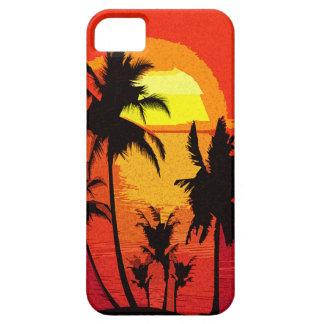 Tropischer Sonnenuntergang Etui Fürs iPhone 5