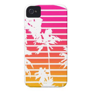 Tropischer Sonnenuntergang iPhone 4 Case-Mate Hülle