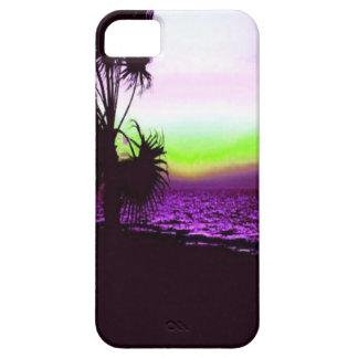 Tropischer Sonnenuntergang iPhone 5 Hülle