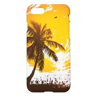 Tropischer Sonnenuntergang iPhone 8/7 Hülle